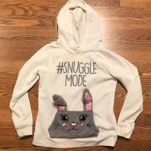 Justice #snugglemode sweatshirt